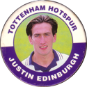 Merlin Magicaps > Premier League 95 233-Tottenham-Hotspur-Justin-Edinburgh.