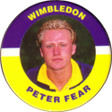 Merlin Magicaps > Premier League 95 257-Wimbledon-Peter-Fear.