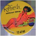 Metro Milk Caps > Pepsi-Cola 12-Refresh-without-filling.