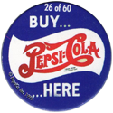Metro Milk Caps > Pepsi-Cola 26-Buy...-Pepsi-Cola-...Here.
