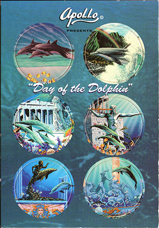 Apollo Collectible Art Caps Day-of-the-Dolphin.