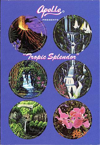 Apollo Collectible Art Caps Tropic-Splendor.