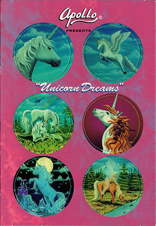 Apollo Collectible Art Caps Unicorn-Dreams.