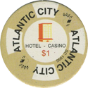 Atlantic City Hotel Casino $1.
