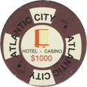 Atlantic City Hotel Casino $1000.