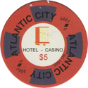 Atlantic City Hotel Casino $5.