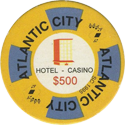 Atlantic City Hotel Casino $500.