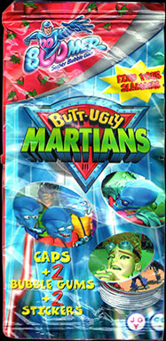 Boomer Bubble Gum > Butt Ugly Martians Packet Packet-front.