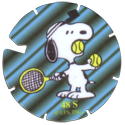 Brilliant Frogs Limited Edition Series 1 048S-Peanuts---Snoopy-playing-tennis.