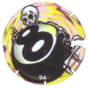Brilliant Frogs Limited Edition Series 1 094-Skeleton-with-8-ball.