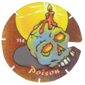 Brilliant Frogs Limited Edition Series 1 114-Poison-Candle-on-Skull.