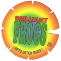 Brilliant Frogs Limited Edition Series 1 Back---Blue-to-green-to-red-to-orange-with-notch.