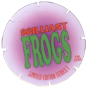 Brilliant Frogs Limited Edition Series 1 Back---Purple-to-white.