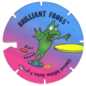 Brilliant Frogs Limited Edition Series 1 Back---frog-Purple-to-blue-with-notch.