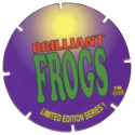 Brilliant Frogs Limited Edition Series 1 Back---yellow-to-blue.