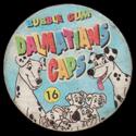 Bubble Gum Dalmatians Caps Back.