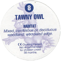 Cadbury Birds of Prey Flip-em's 08-Tawny-Owl-(back).