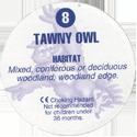 Cadbury Birds of Prey Flip-em's 08-Tawny-Owl-(back).