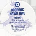 Cadbury Birds of Prey Flip-em's 13-Boobook-Hawk-Owl-(back).
