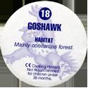 Cadbury Birds of Prey Flip-em's 18-Goshawk-(back).