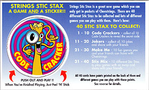 Cheestrings Stic Stax 01-Code-Cracker.