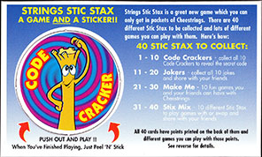 Cheestrings Stic Stax 08-Code-Cracker.