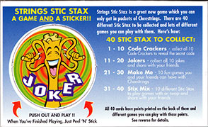Cheestrings Stic Stax 14-Joker.