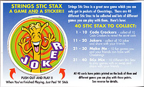Cheestrings Stic Stax 15-Joker.