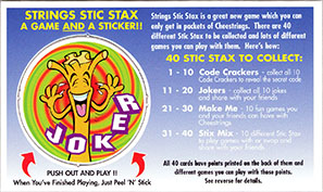 Cheestrings Stic Stax 16-Joker.