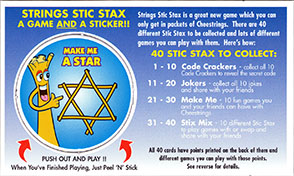 Cheestrings Stic Stax 21-Make-me-a-star.