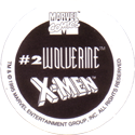 Chef Boyardee X-Men Hero Caps Back.