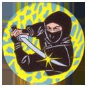 Collector Caps 055-Black-Ninja-V.