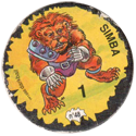 Darkball Monsters 48-Simba.