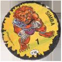 Darkball Monsters 48-Simba.