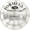 Formula 1 Power Caps Back.