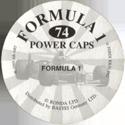 Formula 1 Power Caps Back.