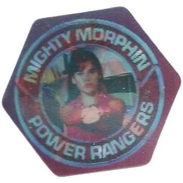 Lot of 20 Pogs Mighty Morphin Power Rangers Pogs Power Caps from 1994