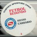 Futbol Redondo - Torneo Apertura 2005 002-004-back-Asociación-Atlética-Argentinos-Juniors.