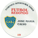 Futbol Redondo - Torneo Apertura 2005 019-029-back-Club-Atlético-Boca-Juniors.