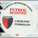 Futbol Redondo - Torneo Apertura 2005 035-036-back-Club-Atlético-Colón.