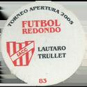 Futbol Redondo - Torneo Apertura 2005 076-083-back-Instituto-Atlético-Central-Córdoba.
