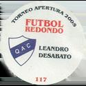 Futbol Redondo - Torneo Apertura 2005 115-120-back-Quilmes-Atlético-Club.