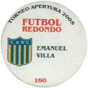 Futbol Redondo - Torneo Apertura 2005 160-160-back-Club-Atlético-Rosario-Central.