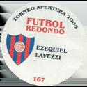 Futbol Redondo - Torneo Apertura 2005 162-173-back-Club-Atlético-San-Lorenzo-de-Almagro.