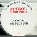 Futbol Redondo - Torneo Apertura 2005 Badge-back.