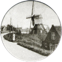 Groot-Ammers > Black & White 28-Windmill.