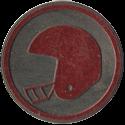J&K K-Hitters > K-Hitters Slammers Football-Helmet-(Red).