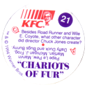 KFC Looney Tunes 21-Chariots-of-Fur-back.