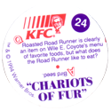 KFC Looney Tunes 24-Chariots-of-Fur-back.