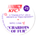 KFC Looney Tunes 25-Chariots-of-Fur-back.